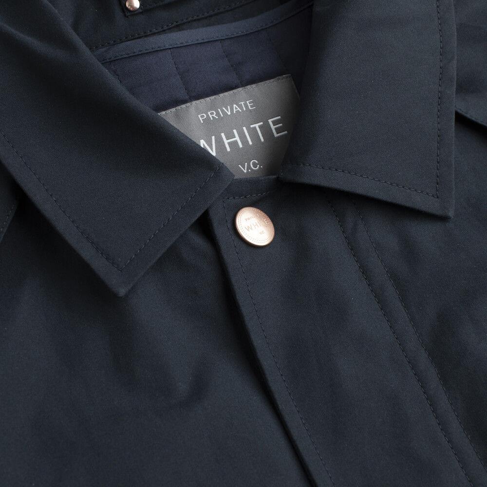 Navy Commuter Coat  | Bombinate