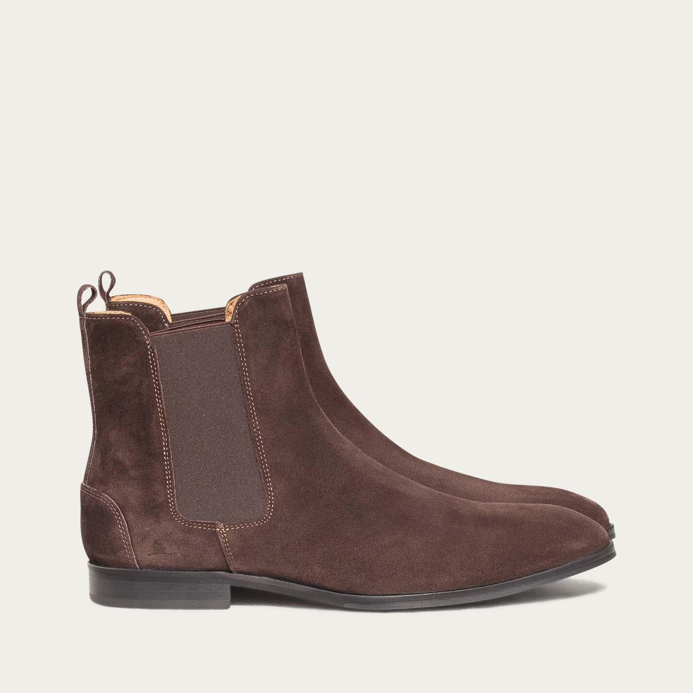 Acajou Brown Fisheri Boots | Bombinate