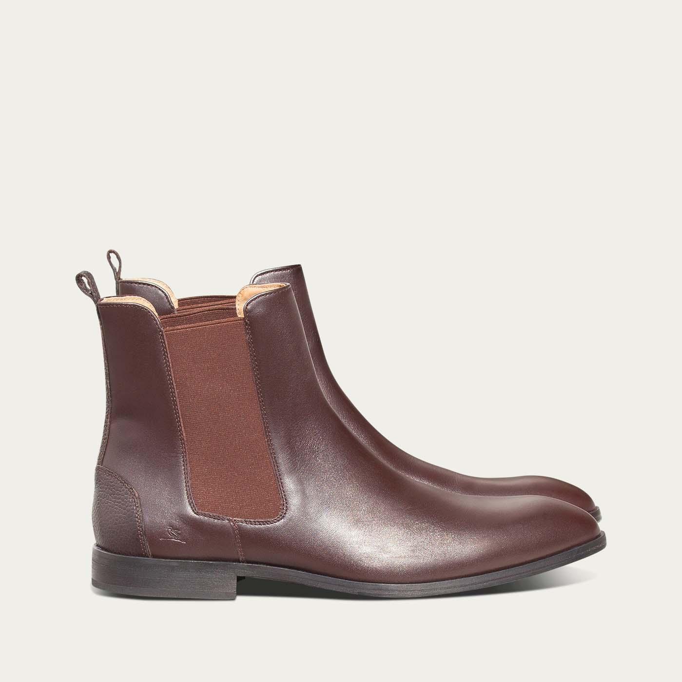 Terre d'Ombre Brown Fischer Boots | Bombinate