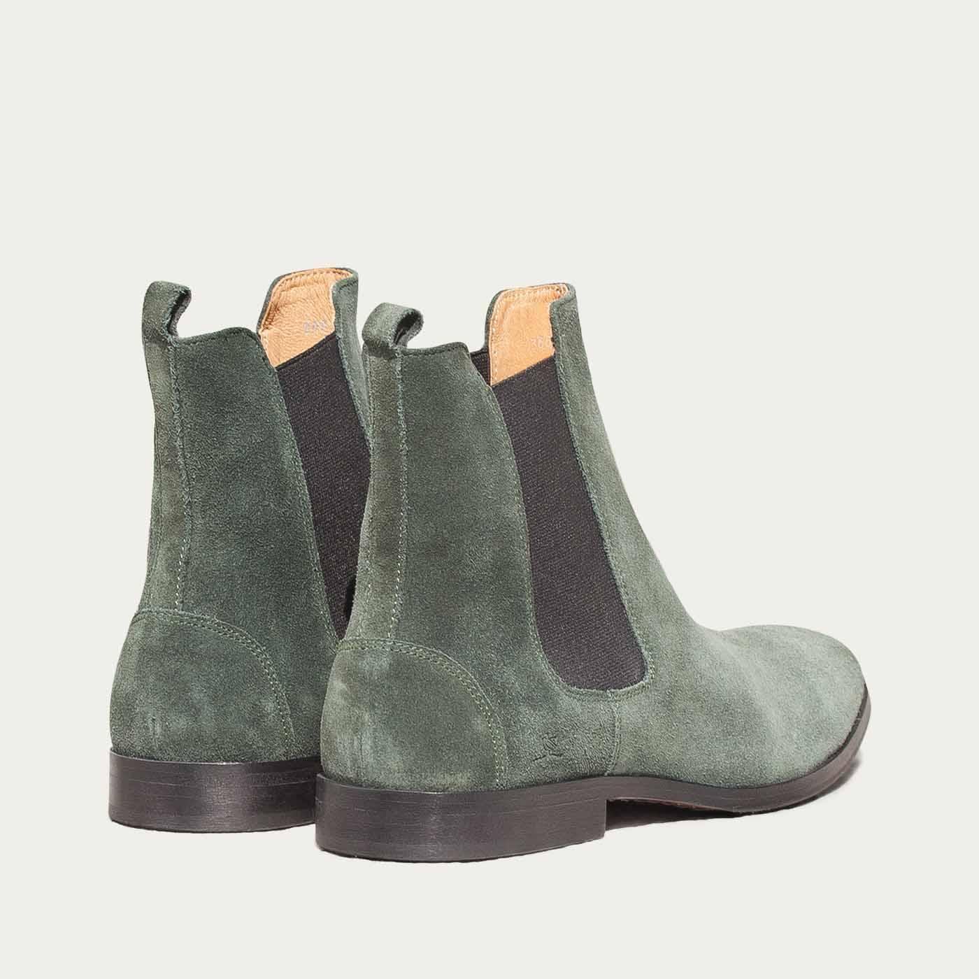 Green Fischeri Boots | Bombinate