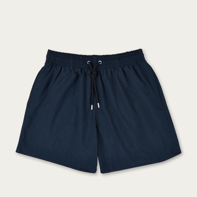 Marine Blue Plain Colour Swim Short | Bombinate