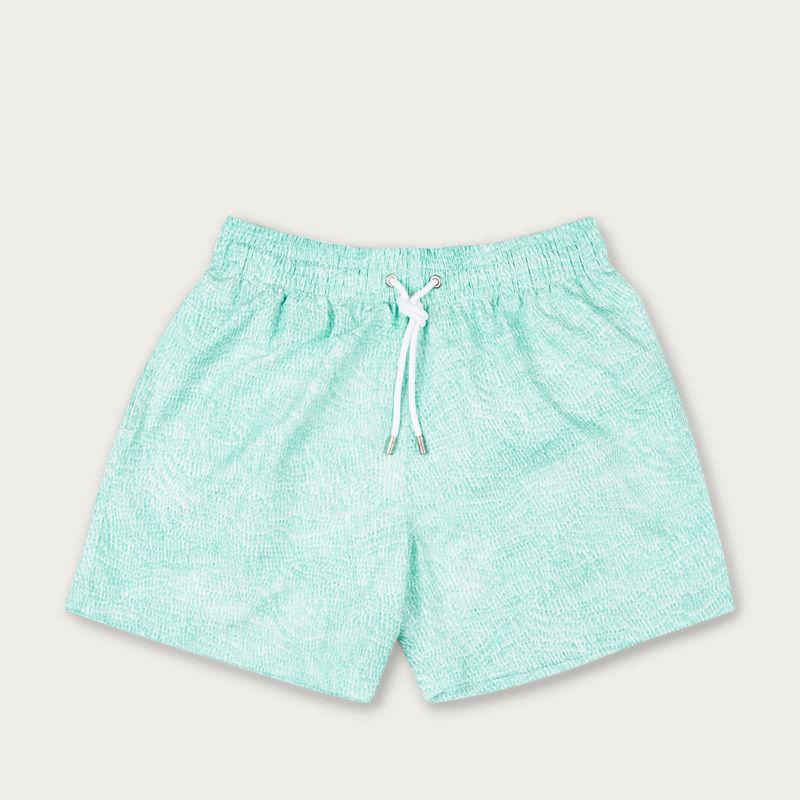 Aqua Ecailles Swim Short | Bombinate