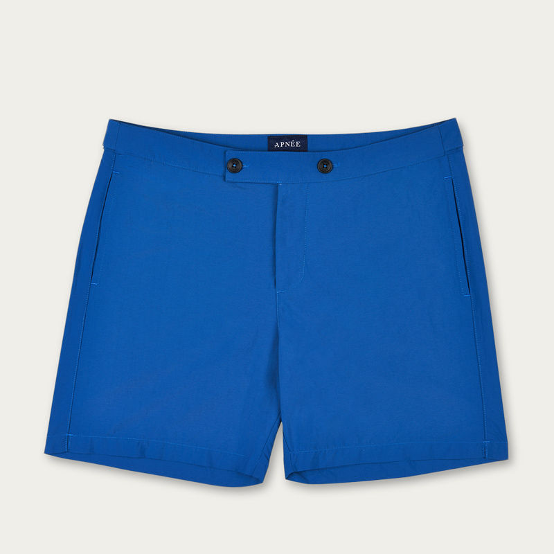 Blue Enzo Swim Short | Bombinate