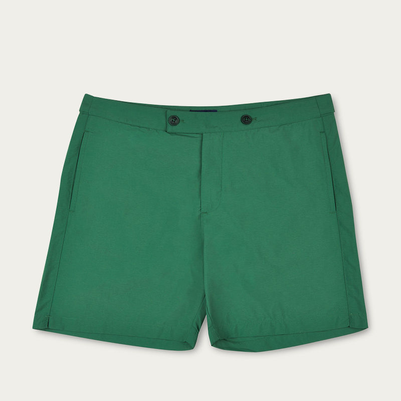 Green Enzo Swim Short | Bombinate