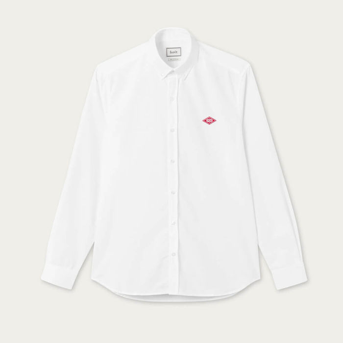 White Falcon Oxford Shirt | Bombinate