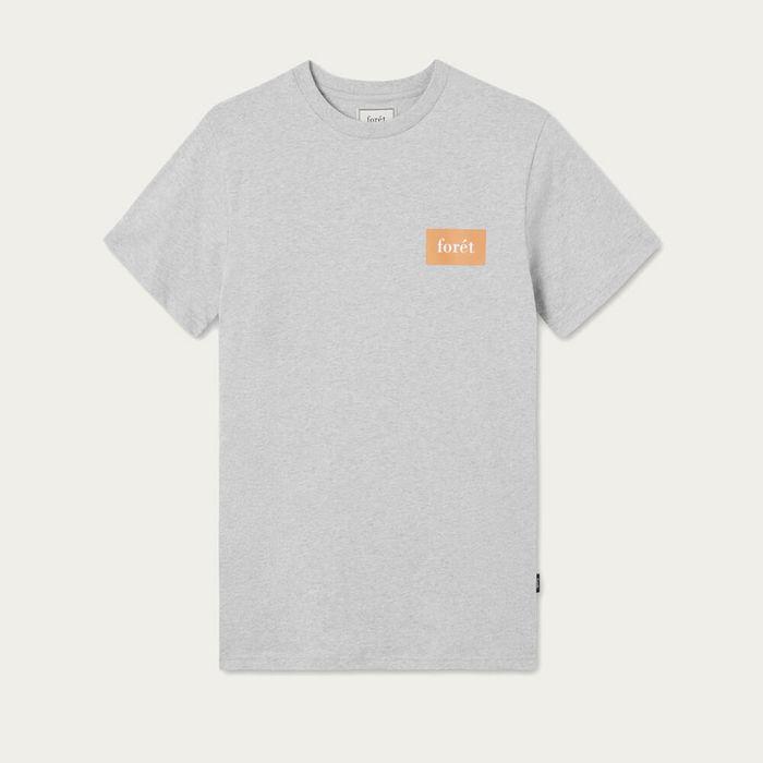 Light Grey Melange Trek T-Shirt | Bombinate