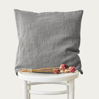 Ash Washed Linen Cushion Cover | Bombinate