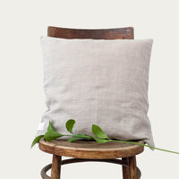 Natural Washed Linen Cushion Cover | Bombinate