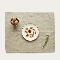 Natural Washed Linen Placemat | Bombinate