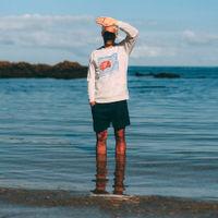 Natural Sunset Cotton Sweatshirt | Bombinate