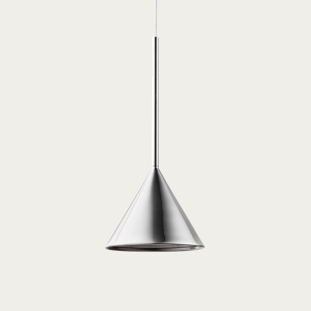 Chrome Figura Arc Lamp | Bombinate