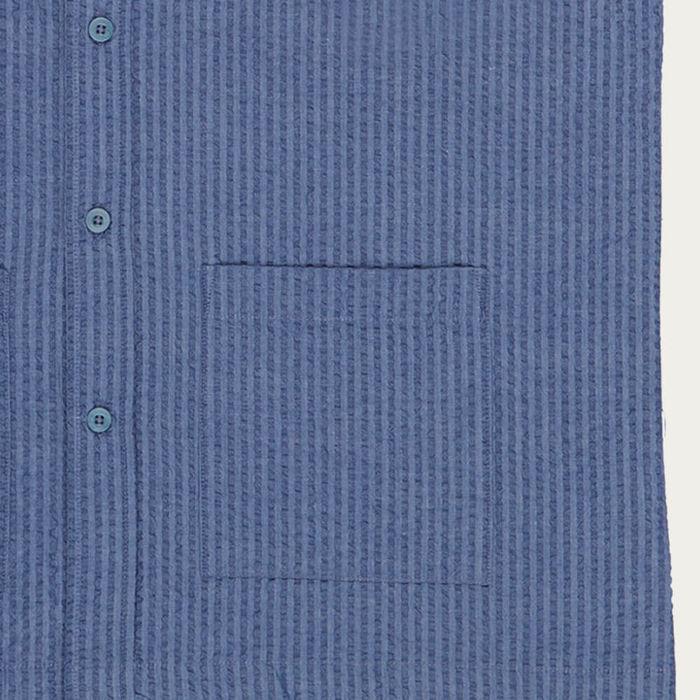 Blue Akua Cotton Shirt   Bombinate