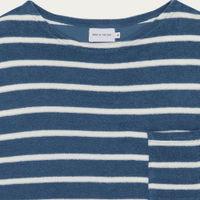 Navy Goxo Cotton T-Shirt | Bombinate
