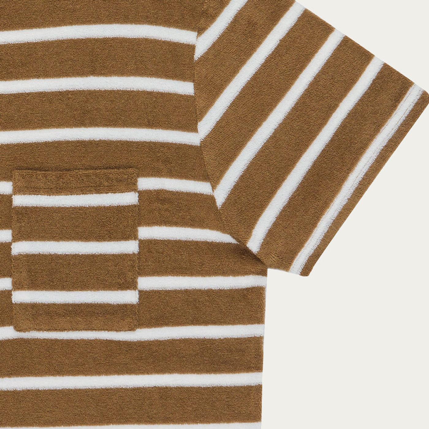 Tobacco Goxo Cotton T-Shirt   Bombinate