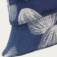 Navy Shell Bucket Hat | Bombinate