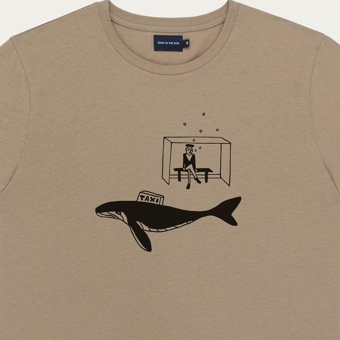 Tobacco Taxi Cotton T-Shirt   Bombinate