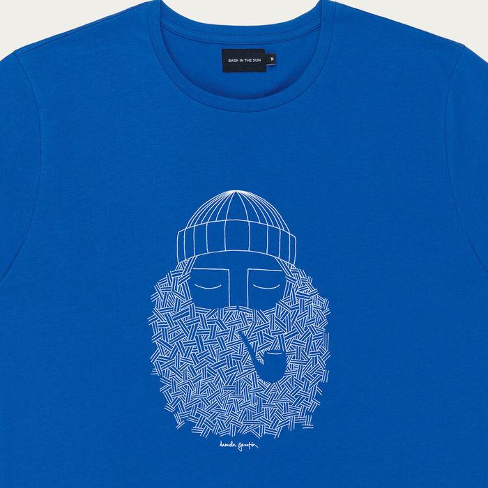 Cobalt Smoking Pipe Cotton T-Shirt   Bombinate