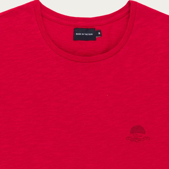 Red Mini Sailor Cotton T-Shirt | Bombinate