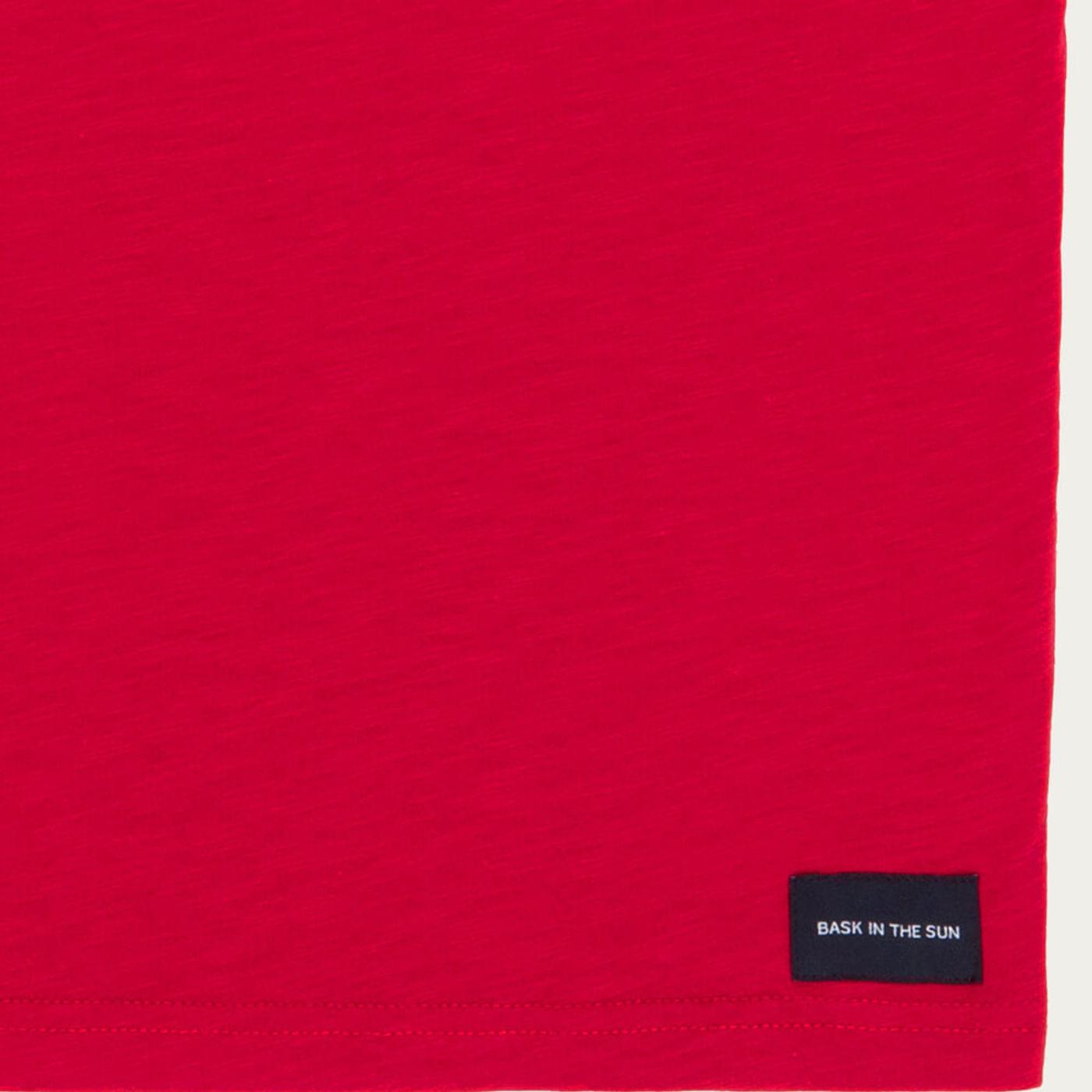 Red Mini Sailor Cotton T-Shirt   Bombinate