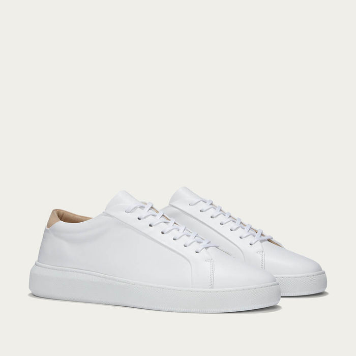 White Series 8 Leather Sneakers | Bombinate