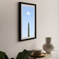 Growing Art Print Black Frame | Bombinate