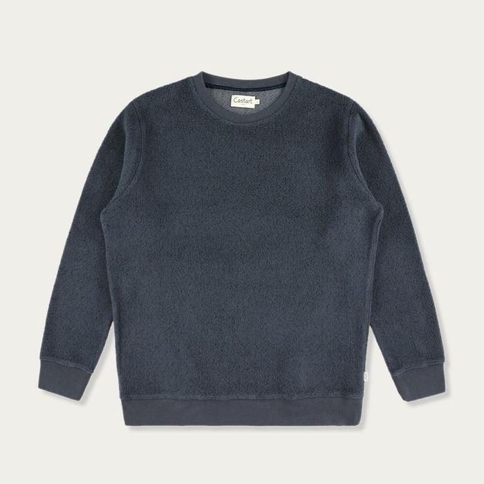 Navy Blue Bill Sweater   Bombinate