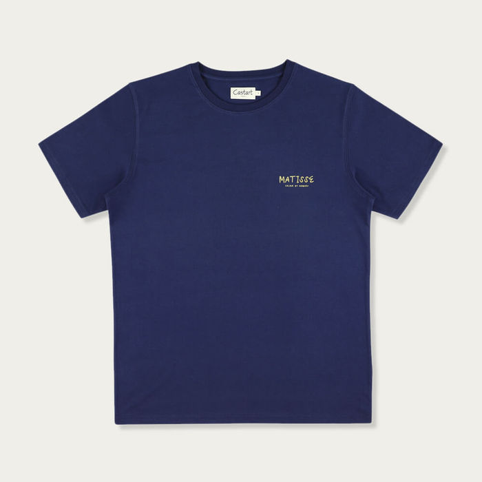 Navy Blue Matisse T-Shirt | Bombinate