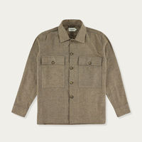 Brown Leon Overshirt | Bombinate