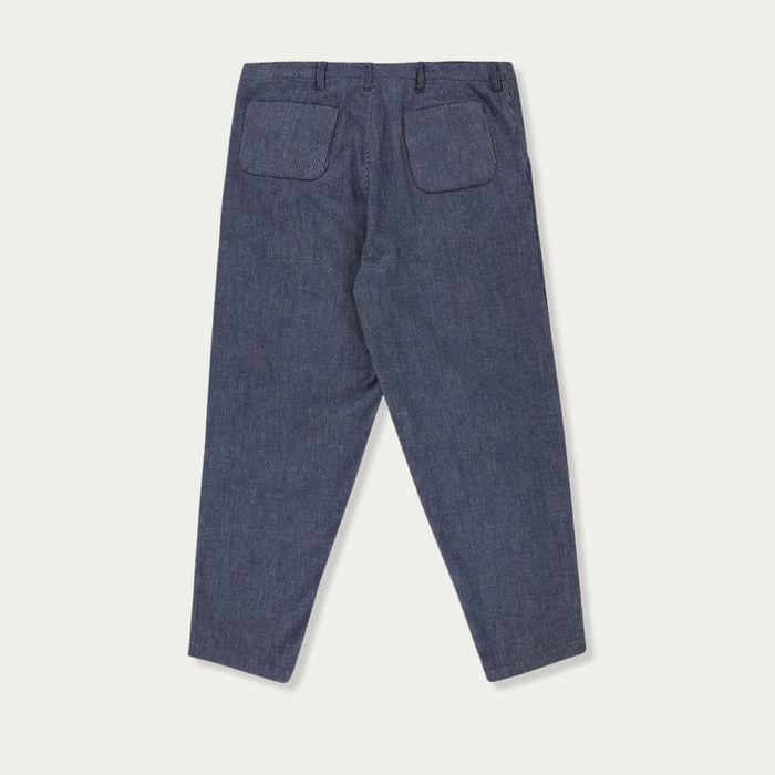 Navy Blue Rousseau Pants | Bombinate