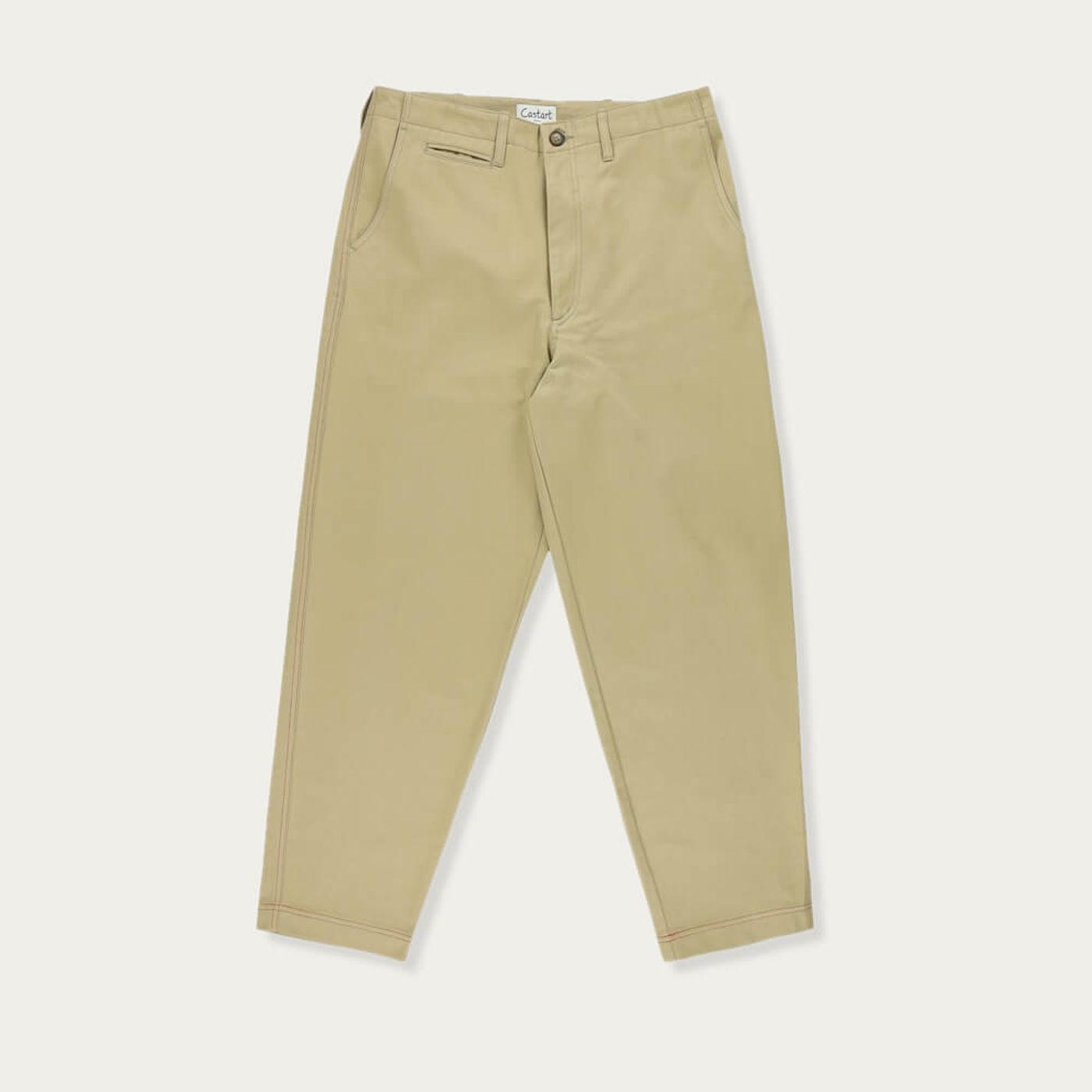 Sand Hockney Tapered Pants | Bombinate
