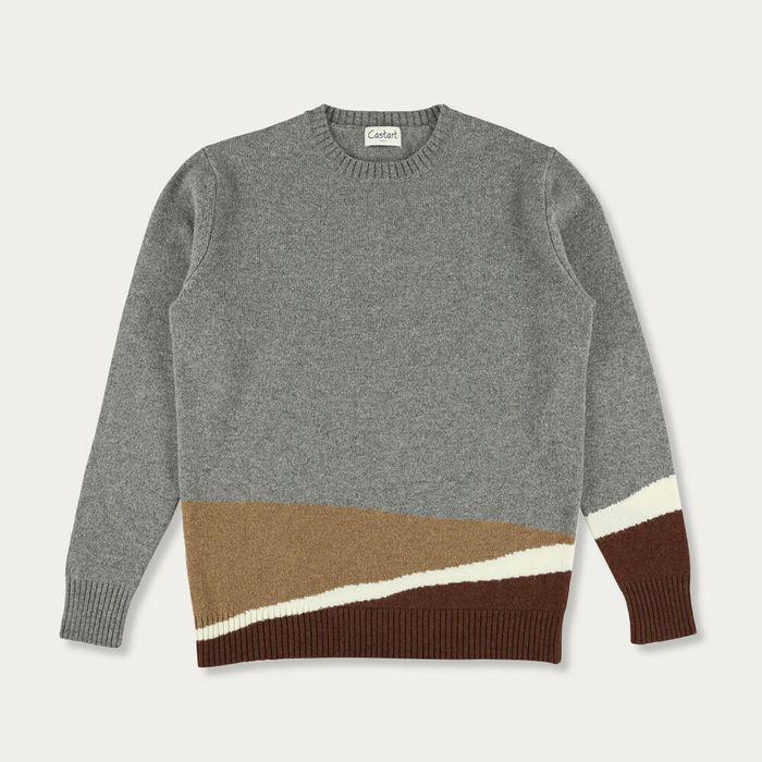 Middle Grey Kollwitz Knitwear | Bombinate