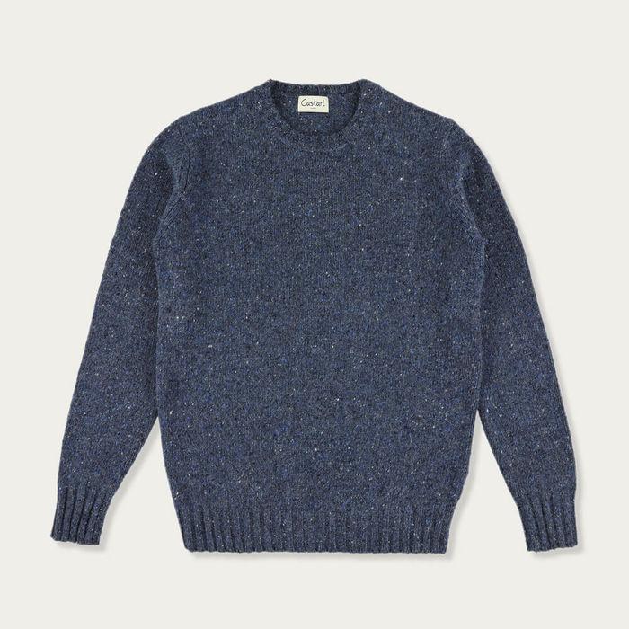 Navy Blue Wassily Knitwear   Bombinate