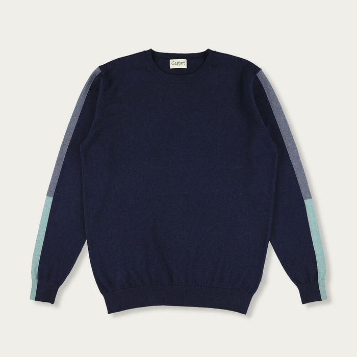 Navy Blue Kubin Knitwear | Bombinate