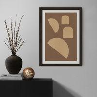 Dada Art Print Black Frame   Bombinate