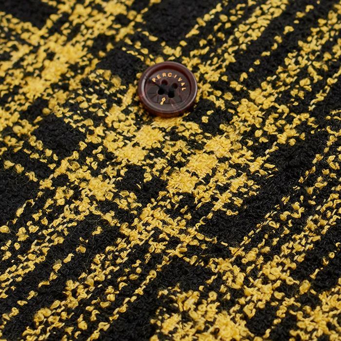 Turmeric Outershirt | Windowpane | Bombinate