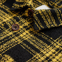 Turmeric Outershirt | Windowpane | Bombinate