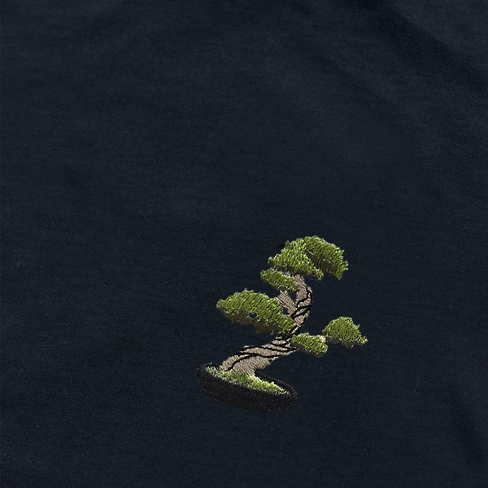 Dark Navy T Shirt | Bonsai Tree | Bombinate