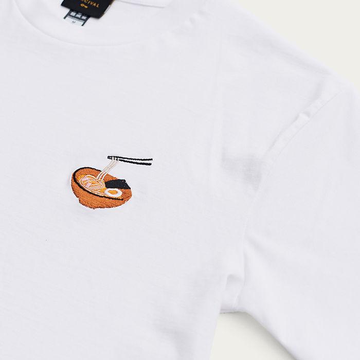 White T Shirt | Ramen | Bombinate