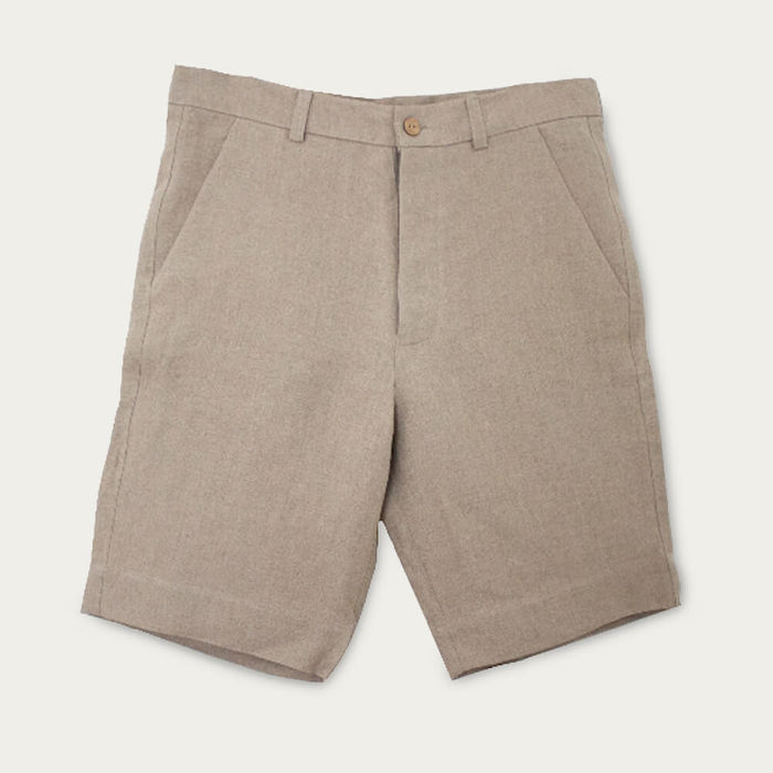 Beige The Classic Shorts | Bombinate