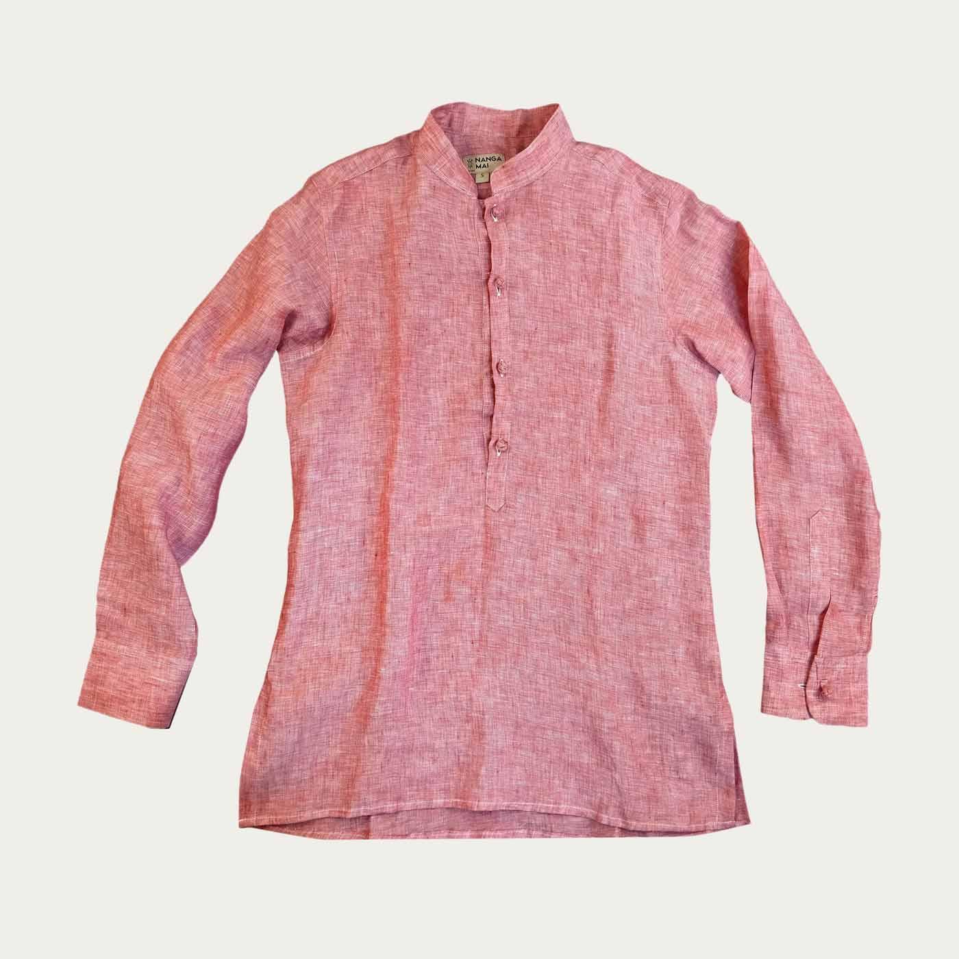 Pompeian Pink Scirocco Shirt | Bombinate