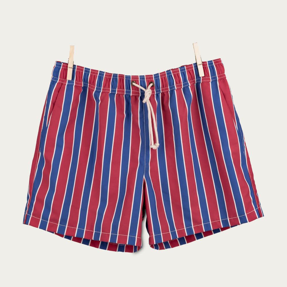 GANT Classic Men/'s Swim Pantaloncini Rosso