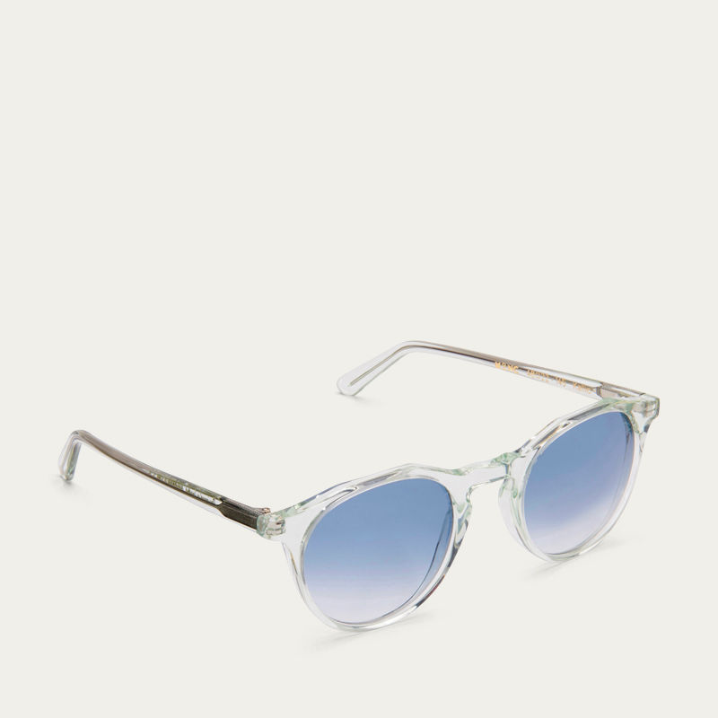 Peppermint Kallio with Blue Gradient Lenses Sunglasses | Bombinate
