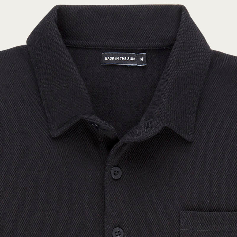 Black Bolibar Polo  | Bombinate