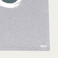 Grey Neptuno Tee  | Bombinate