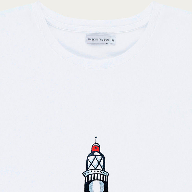 White Lighthouse Tee    Bombinate