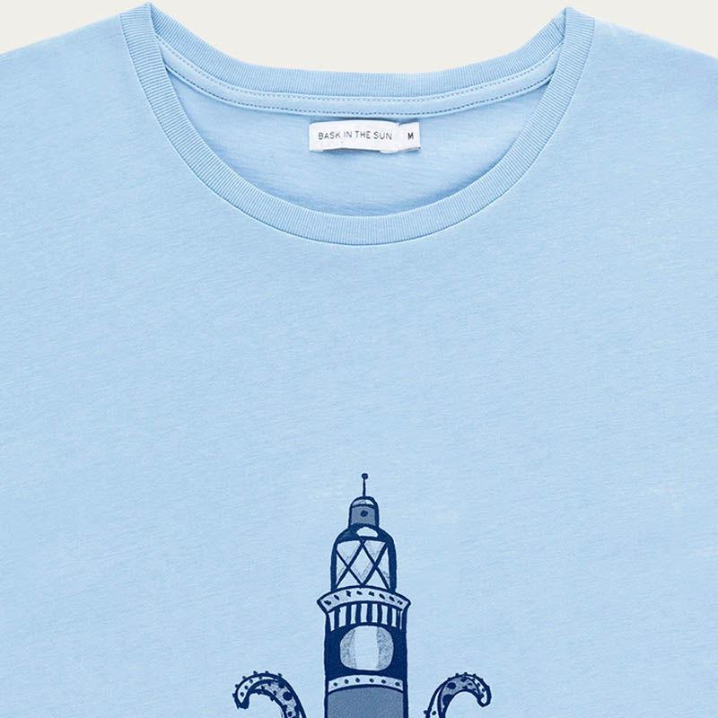Blue Lighthouse Tee    Bombinate
