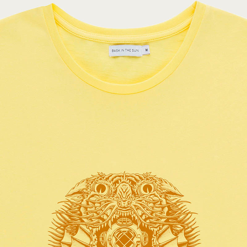 Yellow Creature Tee  | Bombinate