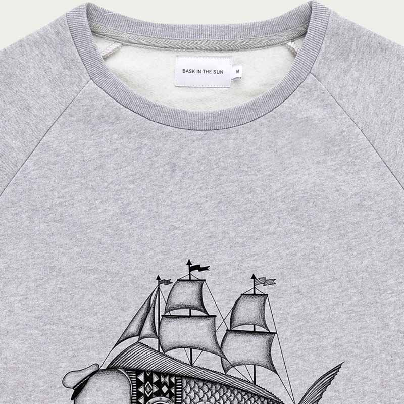 Grey Dorado Sweatshirt  | Bombinate