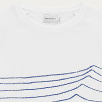 White Swell Sweatshirt  | Bombinate