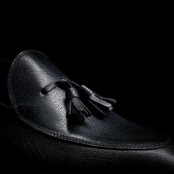 Black Tassel Loafer   Bombinate